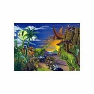 Melissa and Doug 60 pc Land of Dinosaurs Cardboard Jigsaw - click to enlarge