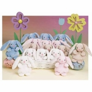 Melissa and Doug 7675 Baby Bunny Hops (15 pcs) - click to enlarge