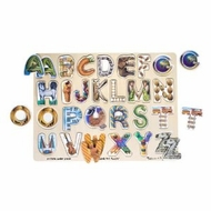 Melissa and Doug Alphabet Art Puzzle - click to enlarge