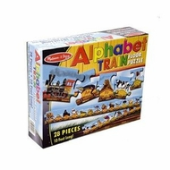 Melissa and Doug Alphabet Train Floor Puzzle - click to enlarge