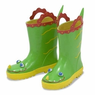 Melissa and Doug Augie Alligator Boots Sz 6-7 - click to enlarge