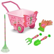 Melissa and Doug Bella Butterfly Cart Little Gardner Bundle - click to enlarge