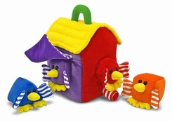 Melissa and Doug Bird House Shape Sorter - click to enlarge