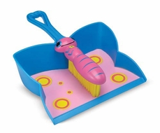 Melissa and Doug Bixie Butterfly Dustpan and Brush - click to enlarge