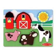 Melissa and Doug Chunky Scene - Barnyard Fun - click to enlarge