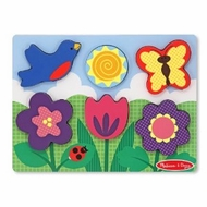 Melissa and Doug Chunky Scene - Flower Garden - click to enlarge