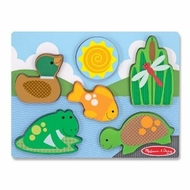Melissa and Doug Chunky Scene - Pond Play - click to enlarge