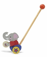 Melissa and Doug Clapping Elephant Push Toy - click to enlarge