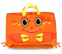 Melissa and Doug Clicker Crab Beach Bag - click to enlarge
