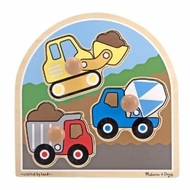 Melissa and Doug Construction Site - Jumbo Knob - click to enlarge
