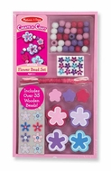 Melissa and Doug Decorate Your Own Flower Bead Set - click to enlarge