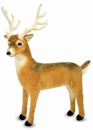 Melissa and Doug Deer : Lifelike Plush Animal - click to enlarge