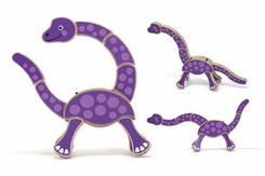 Melissa and Doug Dinosaur Grasping Toy - click to enlarge