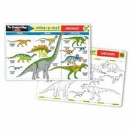 Melissa and Doug Dinosaurs Color-A-Mat - click to enlarge