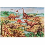 Melissa and Doug Dinosaurs Floor (48 pc) - click to enlarge