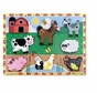 Melissa and Doug Farm 3723 Wooden Chunky Puzzle