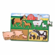 Melissa and Doug Farm Peg Puzzle - click to enlarge