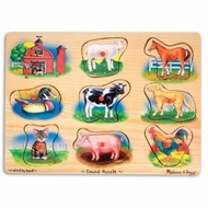 Melissa and Doug Farm Sound Puzzle - click to enlarge