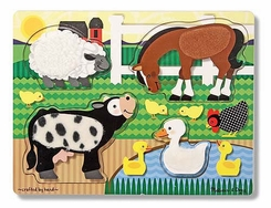Melissa and Doug Farm Touch and Feel Puzzle - click to enlarge