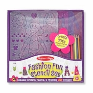 Melissa and Doug Fashion Stencil Set - click to enlarge