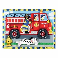 Melissa and Doug Fire Truck Chunky Puzzle - click to enlarge
