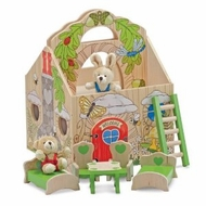 Melissa and Doug Fold and Go 3709 Woodland TreeHouse - click to enlarge