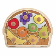 Melissa and Doug Fruit Basket - Large Jumbo Knob - click to enlarge