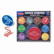 Melissa and Doug Handle Stampers Favorite Pets - click to enlarge