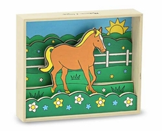Melissa and Doug Horse - Paint by Numbers - click to enlarge