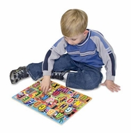 Melissa and Doug Jumbo Alphabet Chunky Puzzle - click to enlarge