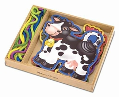 Melissa and Doug Lace and Trace Farm - click to enlarge