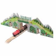 Melissa and Doug Mountain Railway Train Set - click to enlarge