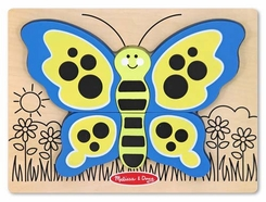 Melissa and Doug My First Chunky Puzzle - Butterfy - click to enlarge