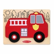 Melissa and Doug My First Chunky Puzzle - Fire Truck - click to enlarge