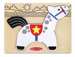 Melissa and Doug My First Chunky Puzzle: Horse - click to enlarge