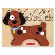 Melissa and Doug My First Chunky Puzzle - Puppy Dog - click to enlarge