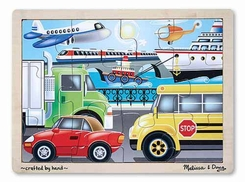 Melissa and Doug On the Go 12 pc Jigsaw Puzzle - click to enlarge