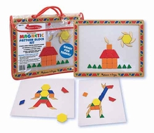 Melissa and Doug Pattern Block Kit - click to enlarge