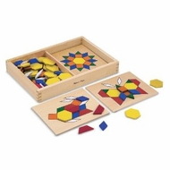 Melissa and Doug Pattern Blocks and Boards #29 - click to enlarge