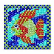 Melissa and Doug Peel and Press Mosaics - Tropical Fish - click to enlarge