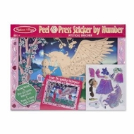 Melissa and Doug Peel & Press Sticker by Number - Mystical Unicorn - click to enlarge
