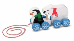 Melissa and Doug Penguin & Polar Bear Pull Toy - click to enlarge