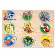 Melissa and Doug Pets Sound Puzzle - click to enlarge