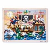 Melissa and Doug Pirate Adventure Jigsaw (48 pc) - click to enlarge