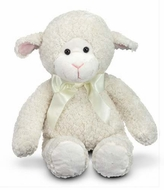 Melissa and Doug Princess Soft Toys 16'' Plush : Lovey Lamb - click to enlarge