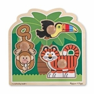 Melissa and Doug Rainforest Friends - Jumbo Knob - click to enlarge