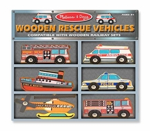 Melissa and Doug Rescue Vehicles - click to enlarge