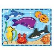 Melissa and Doug Sea Creatures Chunky Puzzle - click to enlarge