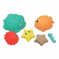 Melissa and Doug Seaside Sidekicks Sand-Molding Set - click to enlarge