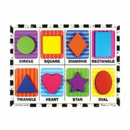 Melissa and Doug Shapes Chunky Puzzle - click to enlarge